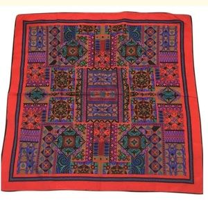 Silk large 35 x 35 inches scarf bandana face cover